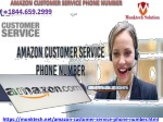 Avail effective service with Amazon customer service phone number team 1844.659.2999