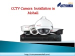 How CCTV Camera Mohali Helps to Secure Your Home and Office with Security Cameras