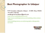 Best photographer in udaipur
