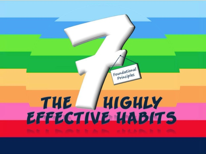 the 7 highly effective habits foundational principles n.