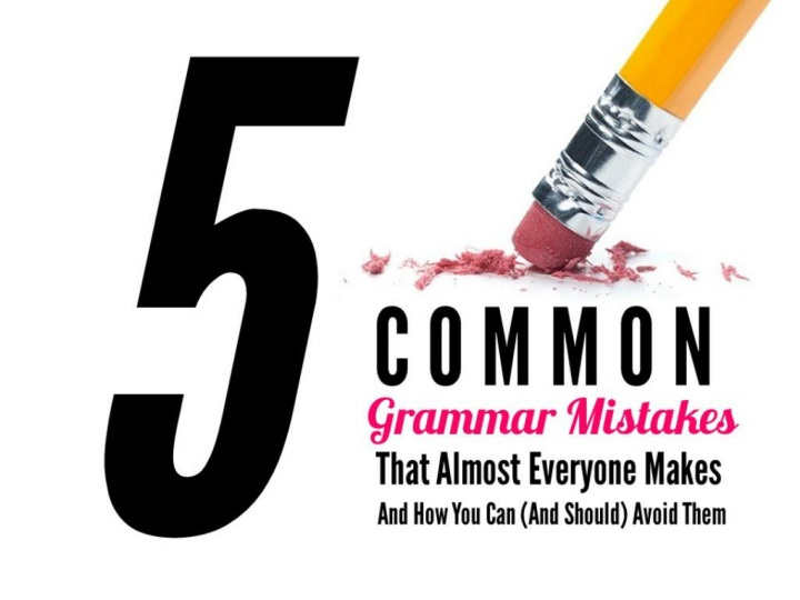 5 common grammar mistakes n.