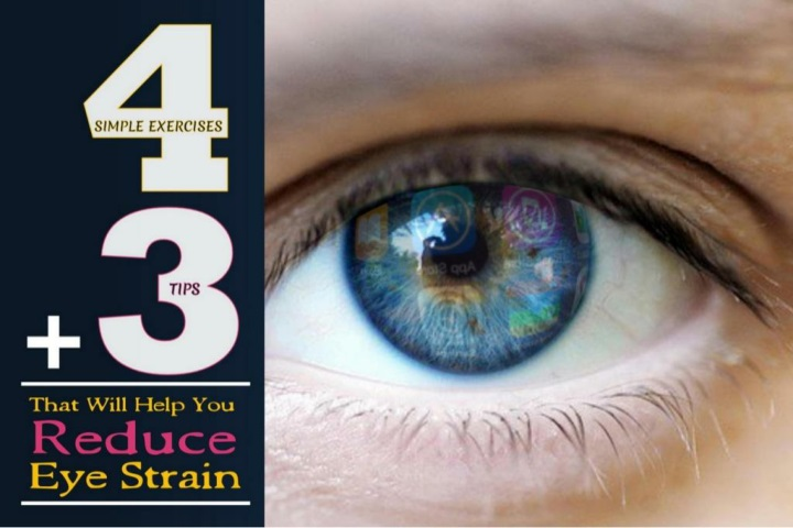 exercises tips to reduce your eye strain n.