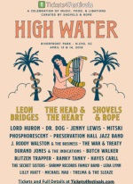 High Water Festival 2019 North Charleston Line-up