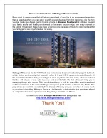 Live your life fullest with Mahagun Meadows Noida