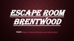 Escape room Brentwood