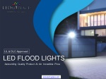 Why LED Flood Lights Are Ideal For Warehouse Lighting?