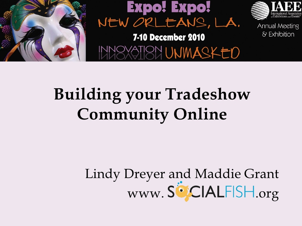building your tradeshow community online n.