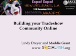 Building Your Tradeshow Community Online
