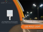 Install LED Pole Lights for Parking Lots Area - Buy Now