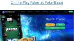 How to Play Poker on India's Most Trusted Poker Website