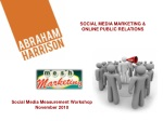 Mesh Marketing 2010 Measurement Master Class