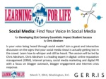 Social Media: Find Your Voice In Social Media by Chris Abraham