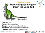 How to Do Long Tail Blogger Outreach with Chris Abraham of Gerris Corp