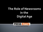 The Role of Online Newsrooms in the Digital Age