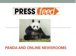 Why a Newsroom is the Perfect Google Panda Food