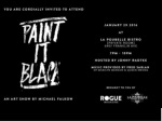 Paint it Black Art Show