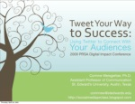 Using Twitter to Connect with Audiences