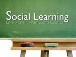 Creating a Social Learning Environment using ZOHO Creator