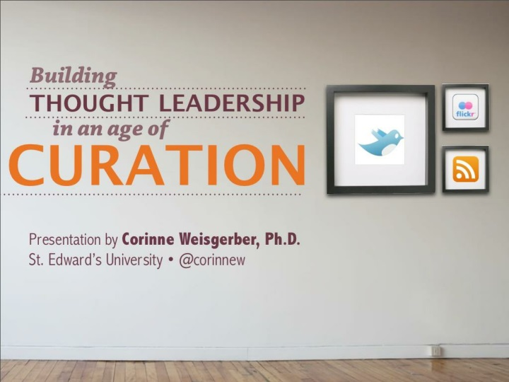 building thought leadership through content curation n.
