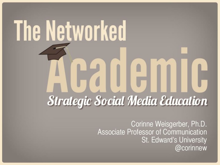 the networked academic n.