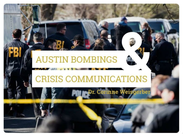 crisis communication the austin bombings n.