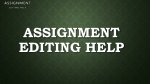 Assignment writing service, Assignment writing service in UK