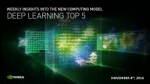 11/4 Top 5 Deep Learning Stories