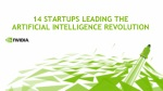 14 Startups Leading the Artificial Intelligence (AI) Revolution