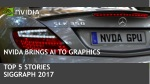 NVIDIA Brings AI to Graphics: Top 5 Stories from SIGGRAPH 2017
