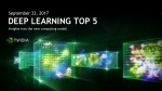 Top 5 Deep Learning and AI Stories - September 22 2017