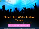 Cheapest High Water Festival Tickets