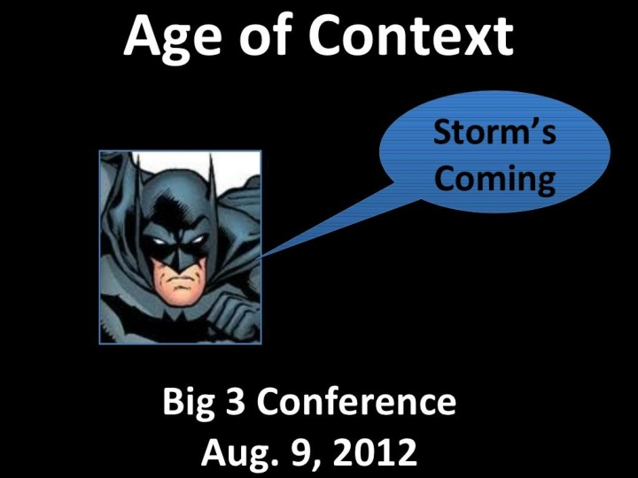 age of context n.
