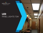 Here Is A Quick Guide For LED Panel Lights 72W