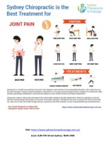 Get effective Solution for joint pain treatment at Sydney Chiropractic & Massage