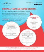 Know Why LED Flood Lights are Best for Warehouses and Storage Areas