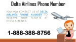 Get Instant Customer Support - Delta Airlines Phone Number 1-888-388-8756