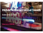 Mobile Software Global Trends 050109