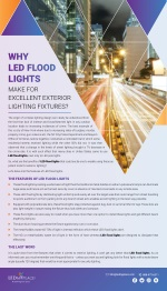What Are The Benefits Of LED Flood Lights For Outdoor Lighting?