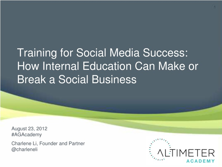 training for social media success how internal n.