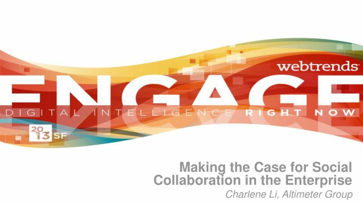making the case for social collaboration n.