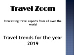 Travel trends for the year 2019