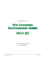 SeoCustomer Hot Tricks & Tips 2012 Q2 - SEO, SEM, Social Media Traffic and Link Building