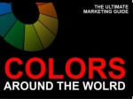 Colors Around the World - the Ultimative Marketing Guide