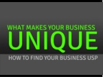 How to Find Your Business USP