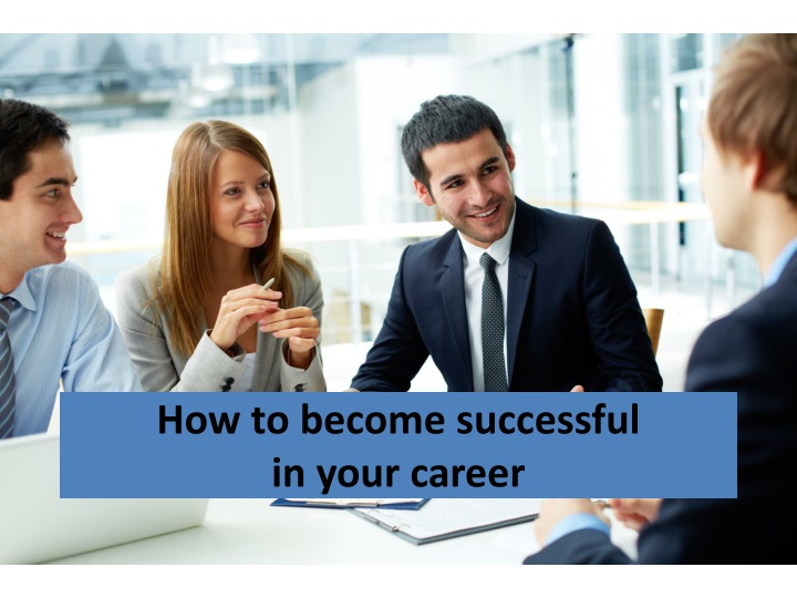 how to become successful in your career n.