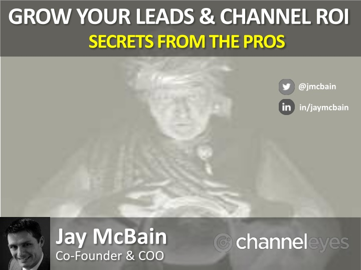 grow your leads channel roi secrets from the pros n.
