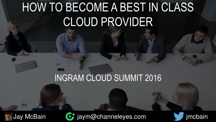 how to become a best in class cloud provider n.