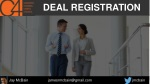 Deal Registration - Channel Chiefs Council Webinar - Jay McBain - Dec 2016