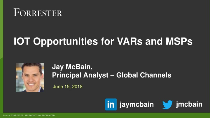 iot opportunities for vars and msps n.