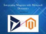 Integrating Magento with Microsoft Dynamics